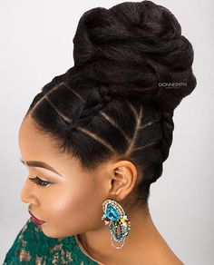 This updo is perfection by U.K. Stylist @dionnesmithhair ❤ #voiceofhair voiceofhair.com