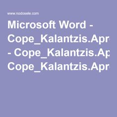 Microsoft Word - Cope_Kalantzis.Aprendizajeubicuo - Cope_Kalantzis.Aprendizajeubicuo.pdf Microsoft Word Free, Severe Weather, Local History, Free People, Bible, How To Plan, Reading, Words, Pdf