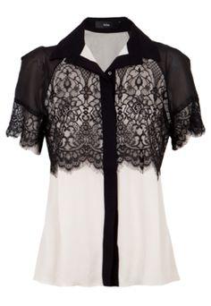 Camisa Seda Talie Nk Gal Cinza - Compre Agora   Dafiti Premium
