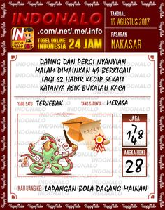 AS 4D Togel Wap Online Indonalo Makassar 19 Agustus 2017