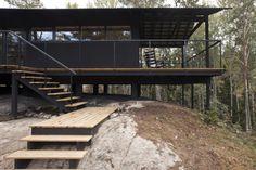 Perfil de casa de madera