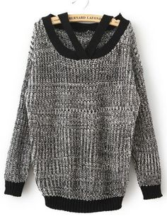 funky off the shoulder sweater i just ordered from sheinside. I like the strap detail.  http://www.sheinside.com/Grey-Off-the-Shoulder-Long-Sleeve-Loose-Sweater-p-145496-cat-1734.html