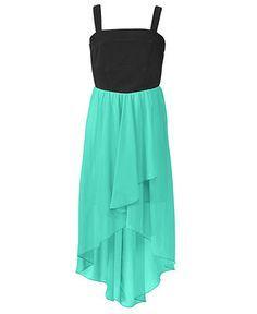 Ruby Rox Girls Dress, Girls Chiffon High-Low Dress - Kids Girls 7-16 - Macy's