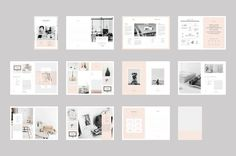 graphic design proposal template indesign - Google Search