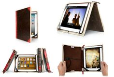 Disguise your precious iPad using the Twelve South BookBook Leather Case. GetdatGadget.com