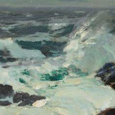 marine oil paintings: Ritschel
