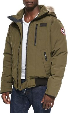 Canada Goose' Men Red Tremblant Full Zip Hoody Jackets