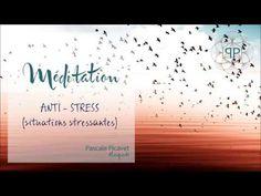 Méditation ANTI STRESS par Pascale Picavet Psychopraticienne -YouTube Stress Meditation, Yoga Meditation, Best Core Workouts, At Home Workouts, Qi Gong, Spiritus, Relaxing Yoga, Reflexology, Ayurveda