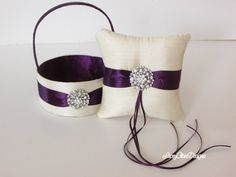 Wedding Ring Bearer Pillow Ring Pillow and by LaceyClaireDesigns
