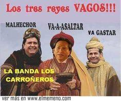 Los tres reyes vagos peruanos