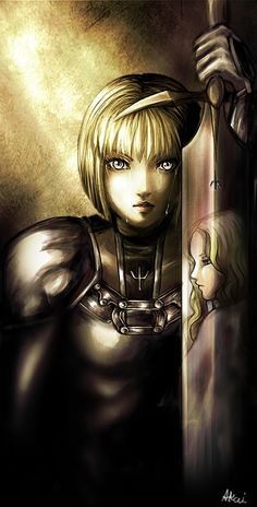 Silver Eyes can Cry by AkaiSoul.deviantart.com on @deviantART #anime #claymore