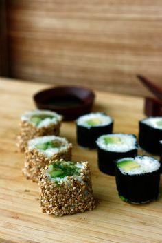 California Maki & Avocado Maki Rolls *recipe