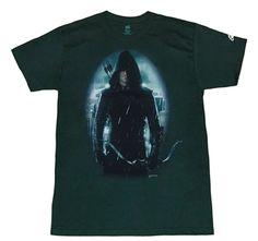Green Arrow Shirts - Green Arrow TV Show T-Shirt by Animation Shops