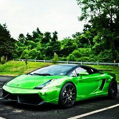 MarcCavallo's Chrome Green Lamborghini Gallardo