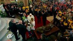 Papa Francisco en México: Discurso del Papa en el encuentro con los jóvenes en Morelia