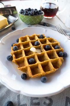 AIP-Friendly Paleo Plantain Waffles @ meritandfork.com