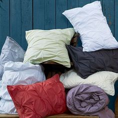 Organic Cotton Pintuck Duvet Cover + Sham. Upgrading our master bedroom bedding...