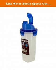 Kids Water Bottle Sports Outdoor Flip Top Bottle 21 Ounces. Ideal for sports or outdoor recreation. This Flip Top Sports Bottle is perfect for your playful kids! Features convenient sports flip top cap, allowing you to drink on the go, at yoga, in the gym or on your way to work. Build with a leak-proof design with a snap-on lid and conveniently fits in most cup holders. Bottle can hold 21 ounces of liquid.