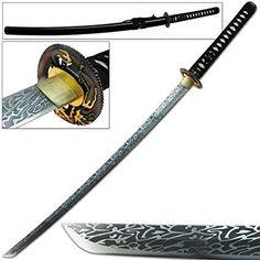 Katana Swords, Black Dragon, Fanfiction, Wattpad, Tableware, Monsters, Books, Livros, Dinnerware