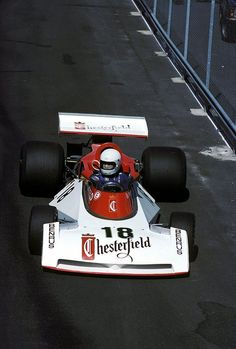 1976 GP Szwecji (Brett Lunger) Surtees TS19 - Ford