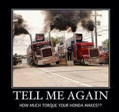 Roll Coal!! Silly Honda