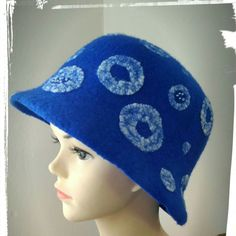 Spring begins - buy yourself a new hat blue