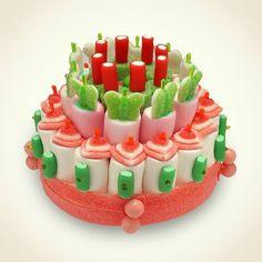 Gâteau en bonbons - idée pour un candy bar