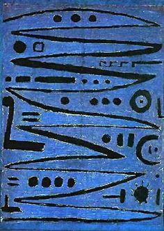 Paul Klee Gallery | Paul Klee ~ Heroic Fiddling, 1938 | ART