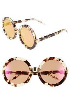 Wildfox 'Malibu Deluxe' 55mm Retro Sunglasses available at #Nordstrom