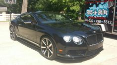 Our customers LOVE our new Carnauba Spray Wax for high impact cars such as this 2015 Bentley (customer submitted photo). Our customer Redden trained with Rightlook in auto detailing six years ago and now uses the Rightlook Carnauba Spray Wax in his auto detailing business, Suds-N-Shine. He and his customers continue to be amazed with the unbeatable shine the Carnauba Spray Wax provides!  http://www.autodetailingwarehouse.com/carnauba-spray-wax-DC1570.html