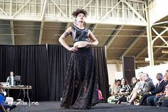 Shades Company: Faux leather top w/ appliqué & burnout maxi Skirt by ShadesCOMPANY #shadescompany #queerfashionweek