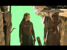 Legolas and Tauriel - Tread carefully, Peter Jackson.  Don't you go ruining my Legolas.