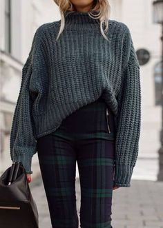 45 Fashionable Winter Outfits to Wear Now / 04 #Winter #Outfits