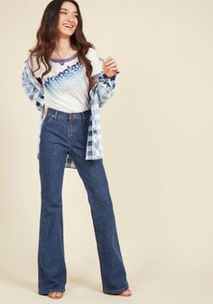 Flare Best 22 Jeans Bootleg Wrangler Jeans X Images Modcloth x06wvpOwq