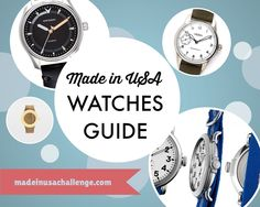 Made in USA Watches Guide