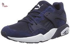 Puma  Blaze Jr, Sneakers Basses mixte enfant - Bleu - Blau (peacoat 02), 36 - Chaussures puma (*Partner-Link)