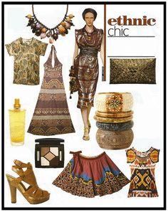 Ethnic Chic.