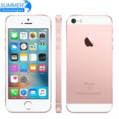 "Original Unlocked Apple iPhone SE Mobile Phone A9 iOS 9 Dual Core 4G LTE 2GB RAM 16/64GB ROM 4.0"" Fingerprint Smartphone                   Model :     Apple Iphone SE (A1662/A1723)       Screen Information :     4.0 Inch       Resolution :     1136 x 640 pixels       Band (Network)..."