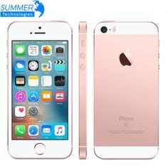 원래 잠금 해제 apple iphone se 휴대 전화 a9 ios 9 듀얼 코어 4 그램 LTE 2 기가바이트 RAM 16/64 기가바이트 ROM 4.0 ''지문 스마트 폰