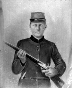 "Private John M. Thompson (Later 1st Corporal)  Company D ""Williamson Grays"", 1st. Tennessee Infantry Regiment.  Mortally Wounded at Perryville  WCHF"