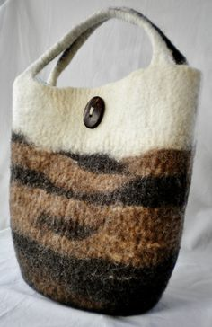 Check out this item in my Etsy shop https://www.etsy.com/listing/243916669/wild-life-ii-hand-wet-felted-tote-bag