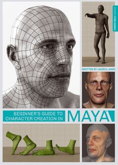 Beginner's Guide to Character Creation in Maya - talented 3D Animator and Trainer, Jahirul Amin, gives an insightful breakdown of how to model from scratch using Maya and Mudbox
