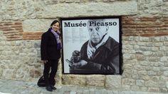 Leila ENGELS (née en 1969) peintre.  Musée Picasso, Antibes.