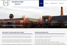 Just went live with new redesign for HeadlandHighAlumni.org website! Check it out. :) Design Development, Check It Out, Just Go, Colorado, United States, Florida, California, Website, Live