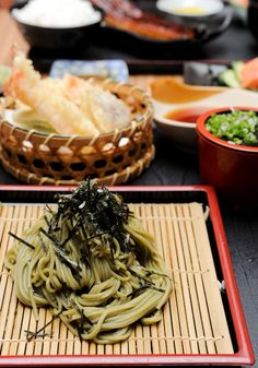 soba- oh man looks so tasty! Oishiiiiiii