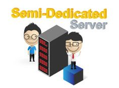 Semi Dedicated is designed for extremely busy websites. Unlike regular shared hosting, each Semi Dedicated server has only 5 to 10 customers, to ensure they have all the resources they need to keep their busy site running without any performance issues