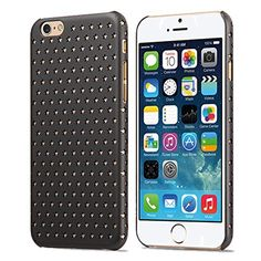 iPhone 6 Case - KAYSCASE Usmed Slim Starry Hard Shell Cover Case for Apple iPhone 6, iPhone Air 4.7 inch 2014 Version (Lifetime Warranty) (Black) KaysCase http://www.amazon.com/dp/B00N1TL042/ref=cm_sw_r_pi_dp_ffsNub1CCW976