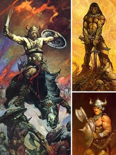 Frank Frazetta's sensuous, swashbuckling scenes of powerful heroes and voluptuous heroines set the stage for today's revival of the visual imaginary arts.