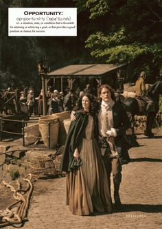 Voyager Sassenach : Outlander definitions.- Opportunity. (x)