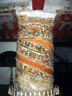 Chiapas, San Cristobal de las Casas, Church of La Merced, Roman Column- Photo by German Murillo-Echavarria 1106.jpg (800×1067)